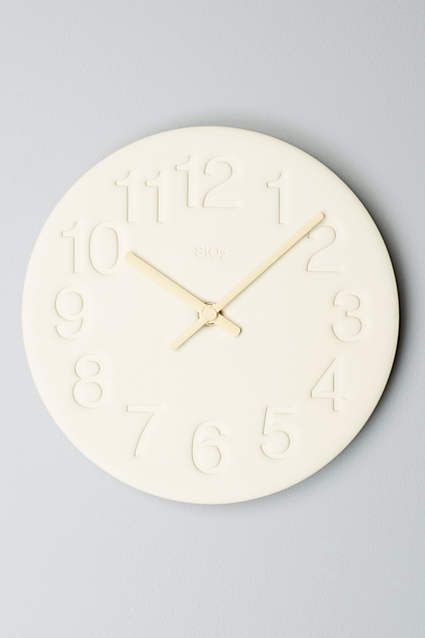 Nasu Wall Clock - anthropologie.com