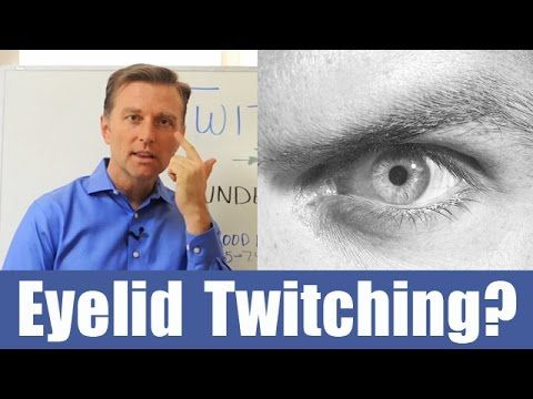 Eyelid Twitching? Find out why... - YouTube