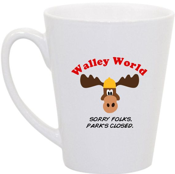 Walley World National Lampoon's Vacation coffee by perksofaurora, $16.00