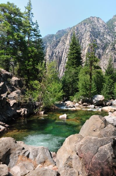 Kings Canyon - Kings Canyon National Park, California We lived there. Gorgeous but far away from civilization