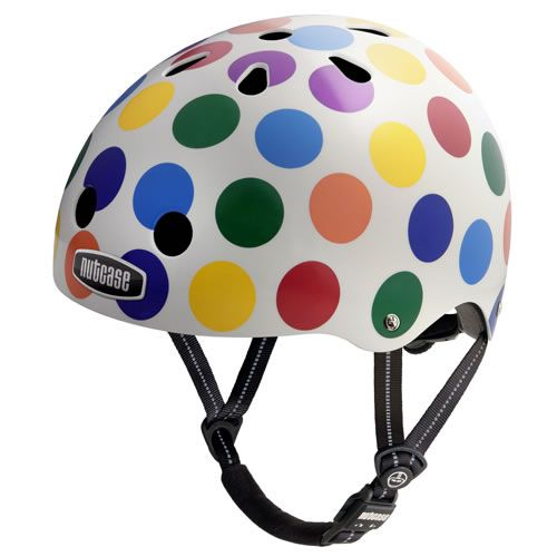 Stylish and safe for bicycling, scooting and skating. Nutcase helmets - great designs that let you express your unique personality, a smoother contoured shell, lighter weight, increased ventilation, and extra sets of pads to fit a variety of head sizes! http://www.mastermindtoys.com/Scooters-1.aspx?_outline=Brand--BNUTCASE