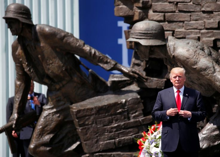 Donald Trump went to Europe and, in keeping with his campaign and influences, gave a speech with clear links to white nationalist thought. To pretend otherwise, to ignore the context of this address—to place Trump in a vacuum of history and politics, divorced from his own persona—is, at best, to cross the line into willful ignorance.