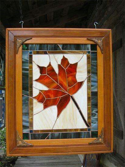 429 Best Stained Glass Trees Leaves Images On Pinterest