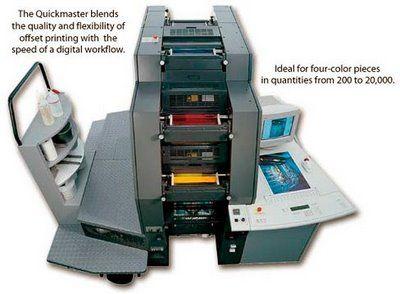 Digital Four Color Print