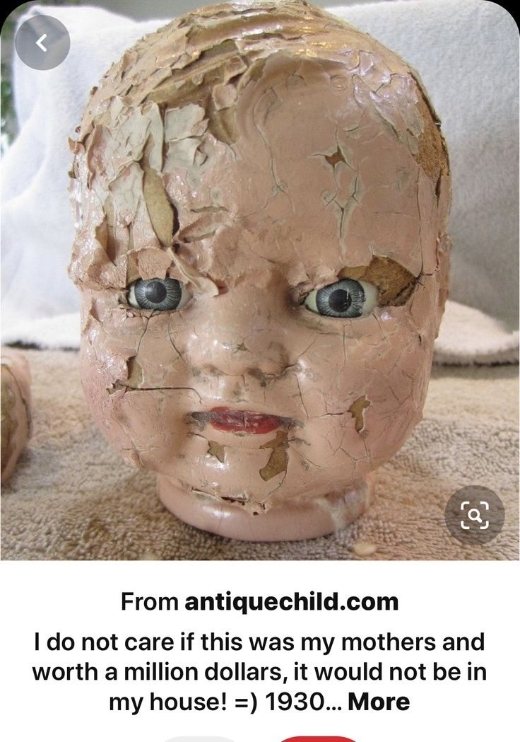 Pin by Karli Ware on Scary Muñeca in 2020 Antique dolls