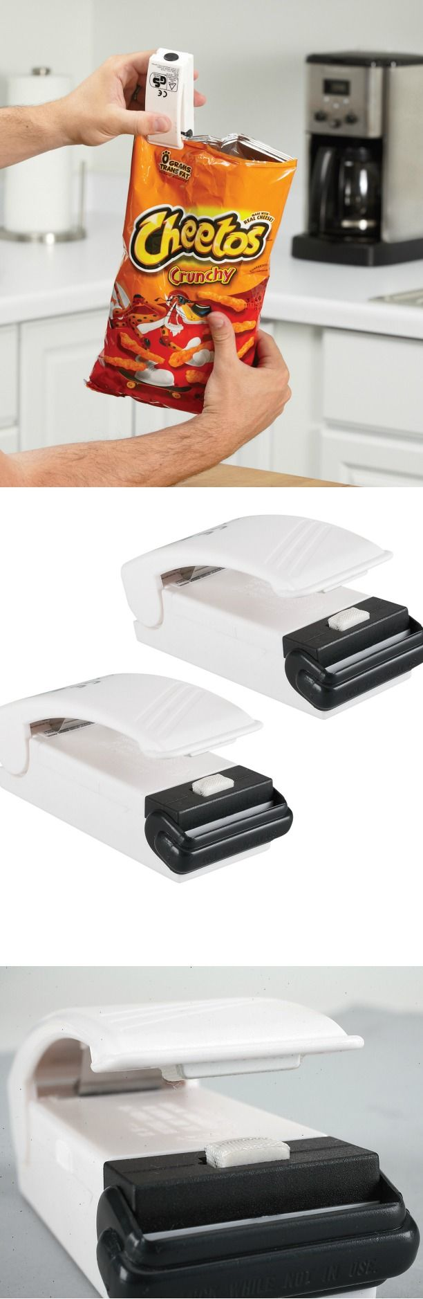 Bag Resealers — Spring the Chip Clip