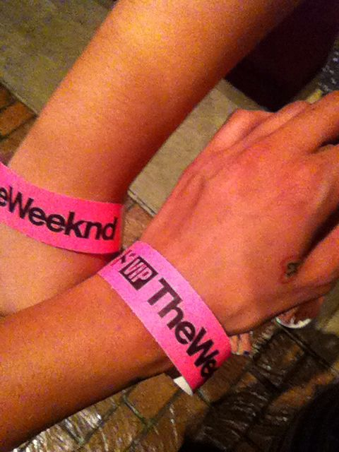 The Weeknd VIP Tickets! His first concert in Tampa