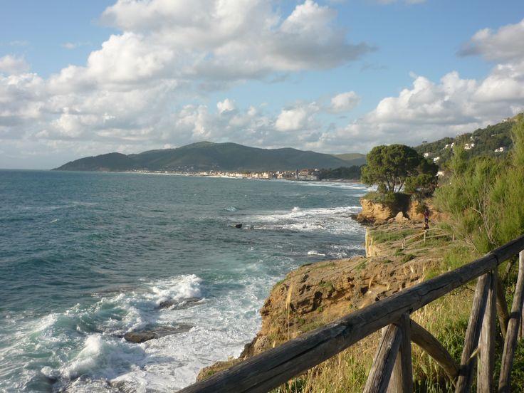 Weg zur Punta Licosa