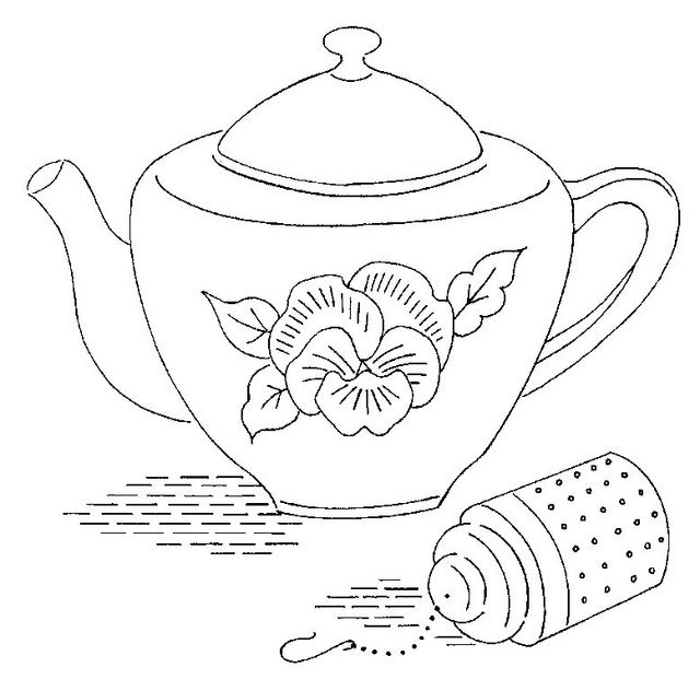 Mr Snowman On Christmas Is Getting Cold Coloring Page: 62 Best Teapots & Coffee Coloring Pages Images On
