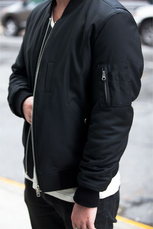 Black & White. Perfect. Bomberjacket. Youth. Spring. Minimal. Clean. Fresh! Schedvin.