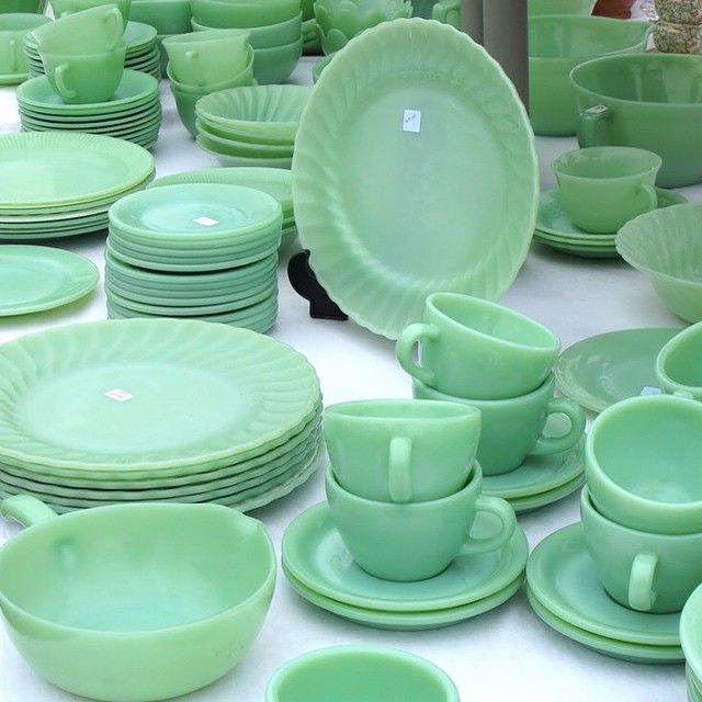 521 Best Images About Jadeite Dishes......Love, Love On