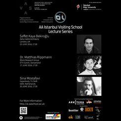 AA Istanbul Visiting School 2016 Konferans Dizisi