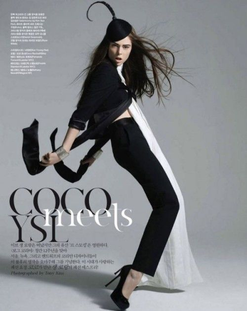 One of YSL's favorite muses - CocoCoco Rocha Jpg 500 629, Fashion Models, Editorial, Wear Hats, Coco Meeting, Meeting Ysl, Cocorochajpg 500629, Hats Everyday, Kim Models