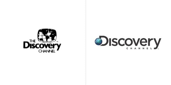 discovery channel logo evolution