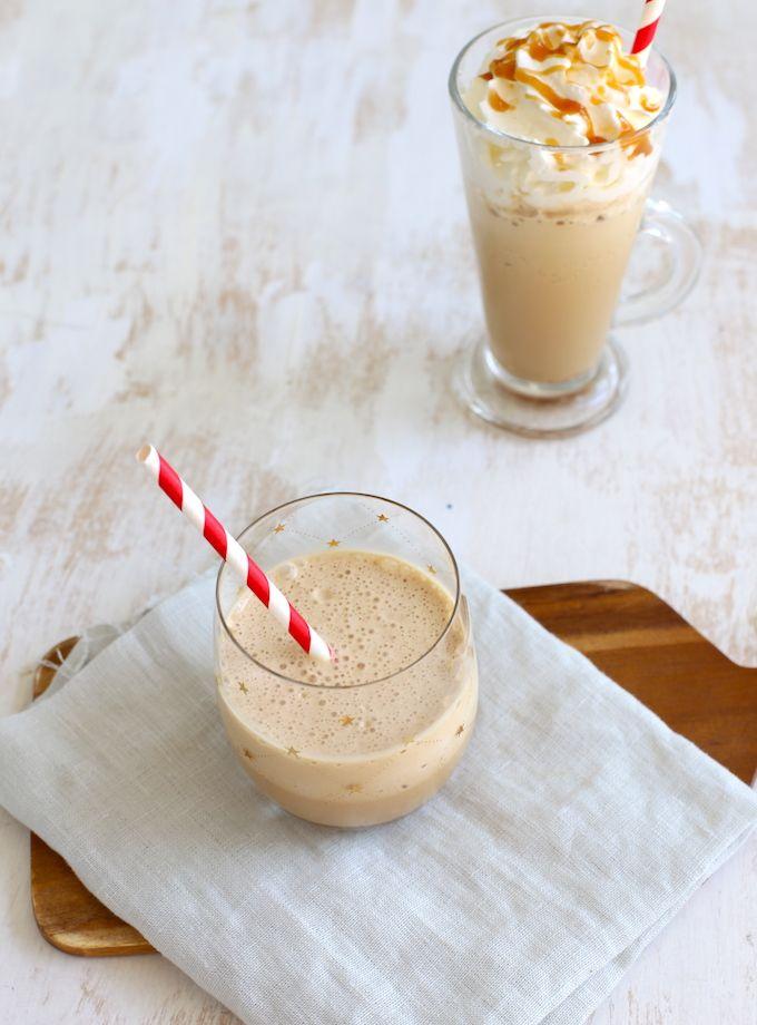 hoe maak je ijskoffie? Benodigdheden:  krachtige blender 2 dubbele espresso's 100 ml gecondenseerde melk 2 theelepels suiker 10 ijsblokjes