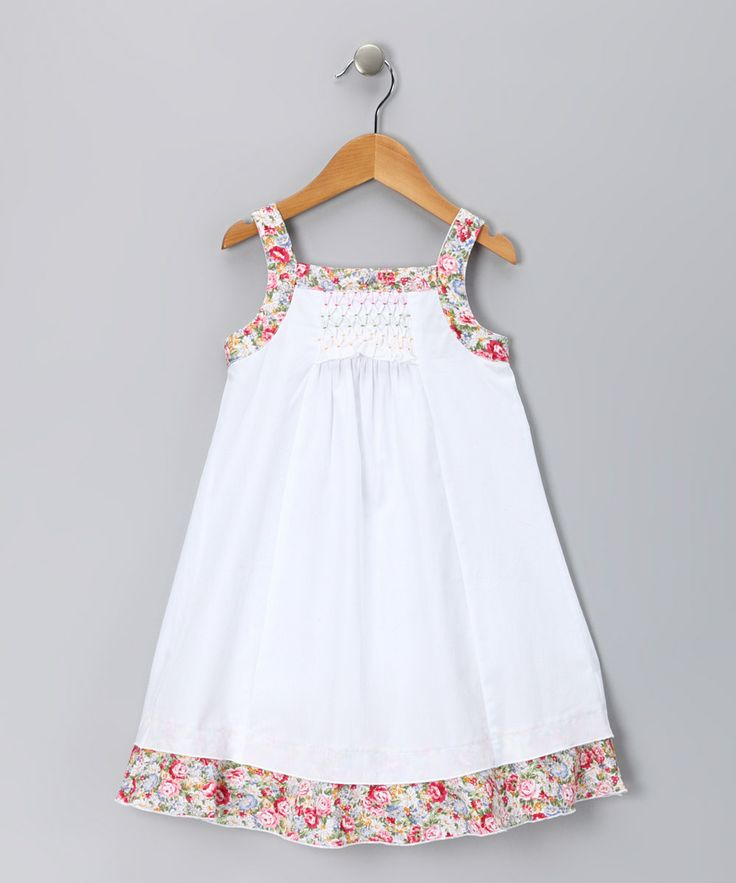 another cute sundress idea, could vary the color/print combination, print body with solid trim?