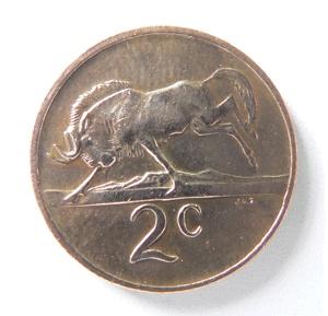 Sudafrica, 2 centesimi