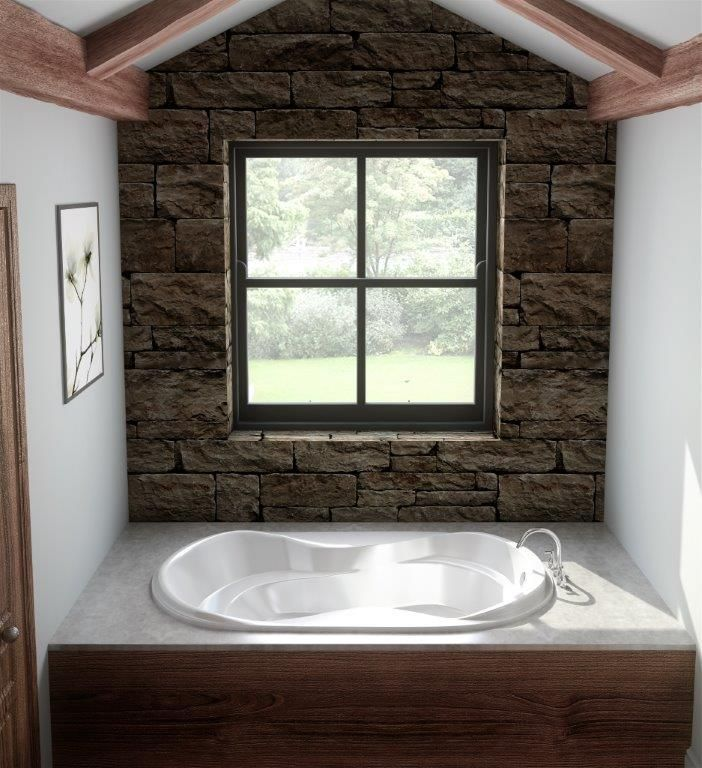 """The Oasis Model 7238 - 72"""" Acrylic Bathtub"""
