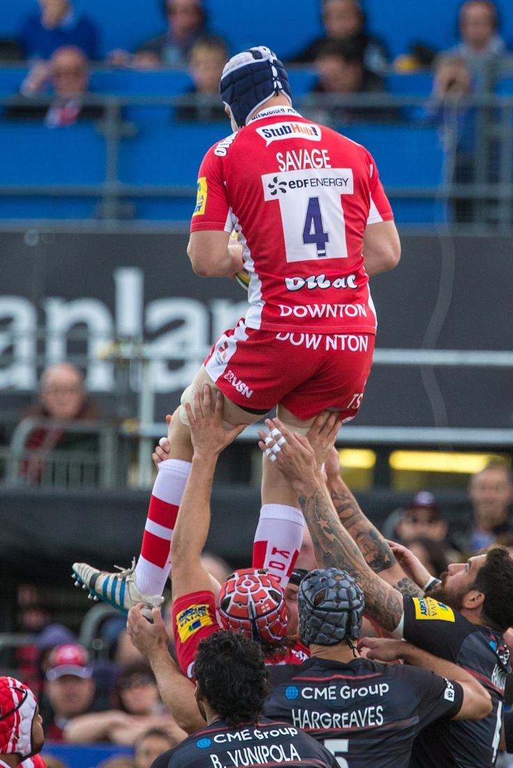 Aviva Premiership Rugby 2014 | Saracens vs Gloucester Rugby | by Georgie Kerr