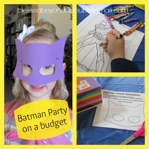 17 Best Images About Batman Party On Pinterest