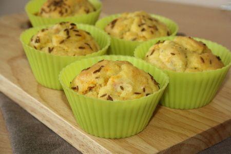 Recette muffins aux carottes et au cumin, cuisinez muffins aux carottes et au cumin