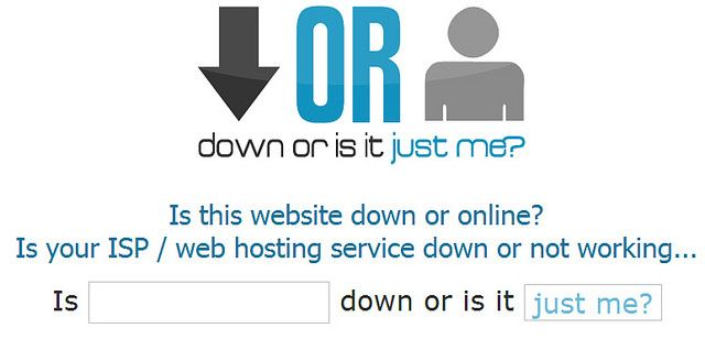 Down or is it Just Me: Site Down Status Checker