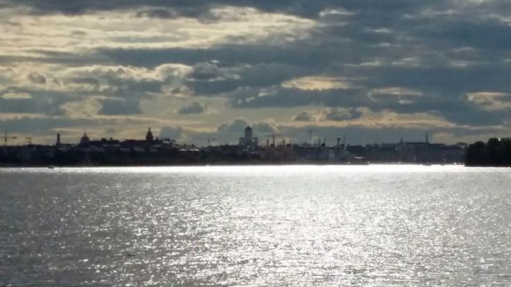 Helsinki from the sea.