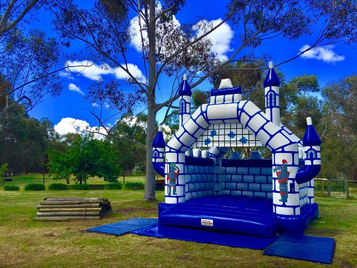 Adult jumping castle hire Melbourne The Junior Knights Castle is perfect for an adult party
