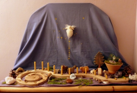 Advent Nature Table