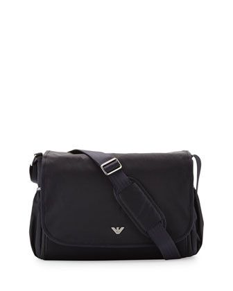 Armani Junior Nylon Diaper Bag