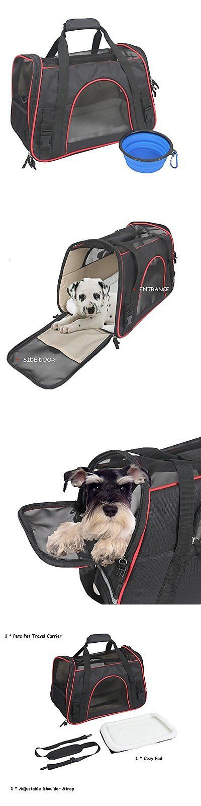 Carriers and Totes 177788: Ewolee Pet Carrier Soft-Sided Airline Approved Dog Travel For Small Dogs And -> BUY IT NOW ONLY: $46.16 on eBay!