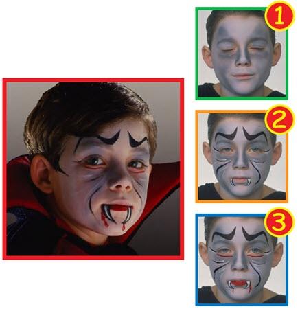 Snazaroo™ Face Painting: Dracula