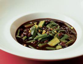 Black Bean Pistou Soup Recipe | Vegetarian Times