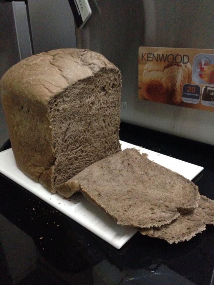 Oreo chocolate milk bread
