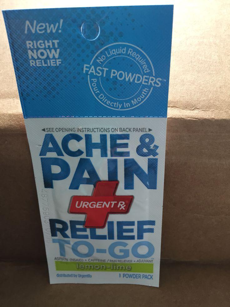 Urgent Rx Ache & Pain Relief To-Go