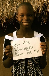 Africa. The people of this country inspire me, they have so much hope and perseverance even with the little they have.
