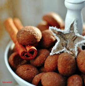 Weihnachtskekse - Kakaoseufzer