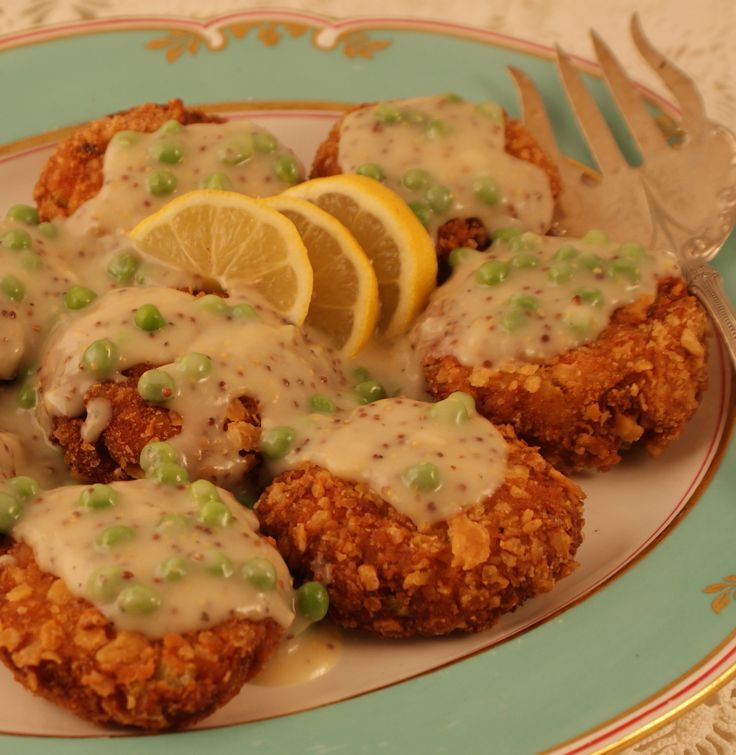 Dish Salmon Croquettes