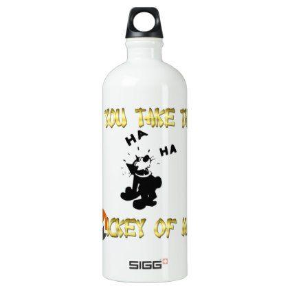 SIGG Traveller (1.0L) New Zealander Quote Aluminum Water Bottle - home decor design art diy cyo custom