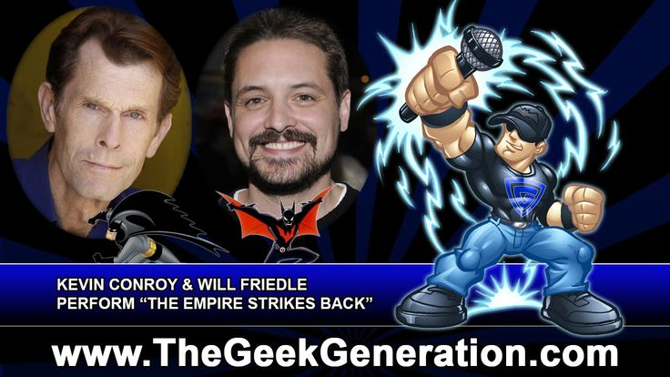 Kevin Conroy and Will Friedle perform The Empire Strikes Back - The Voic...