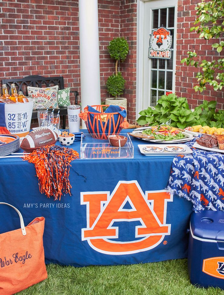 Auburn Football Tailgate Ideas | Saturday down South | Football Tailgating…