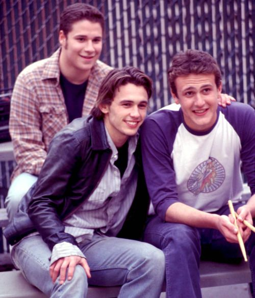Seth Rogen, James Franco and Jason Segal.. If I could have a harem, lol. You'd still be my favorite, tho.. ;-)