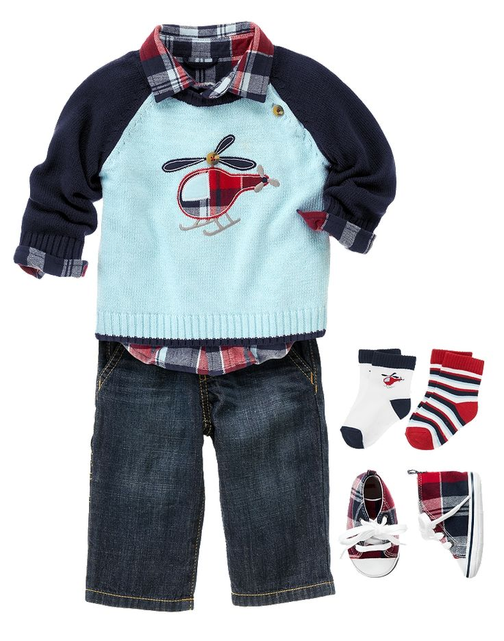 Newborn Boy Outfits, Newborn Boy Clothes at Gymboree