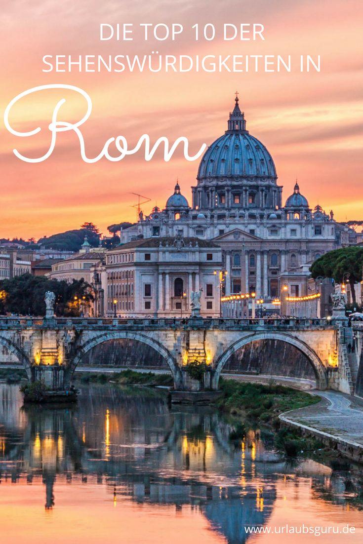 Der Trevi Brunnen, die Spanische Treppe, das Kolosseum und wie sie alles heißen. Hier erfahrt ihr, welche Orte ihr euch bei eurem Besuch in Rom nicht entgehen lassen dürft.