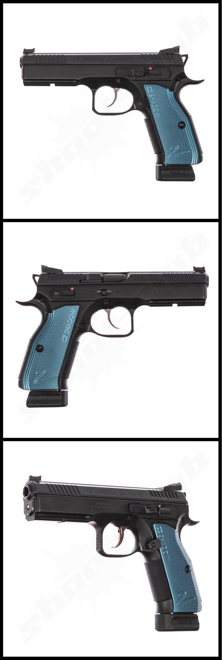 CZ Shadow 2 Poly im Kal. 9mm Luger    - weitere Informationen und Produkte findet Ihr auf www.shoot-club.de -    #shootclub #pistol #pistole #guns  #9mm