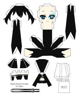 anime papercraft   La otaku Francisca: Papercraft animes,vocaloid y touhou variados ...