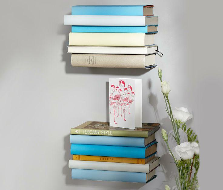Für #Leseratten: #Wand-Bücherregale für €9,95 bei #Tchibo