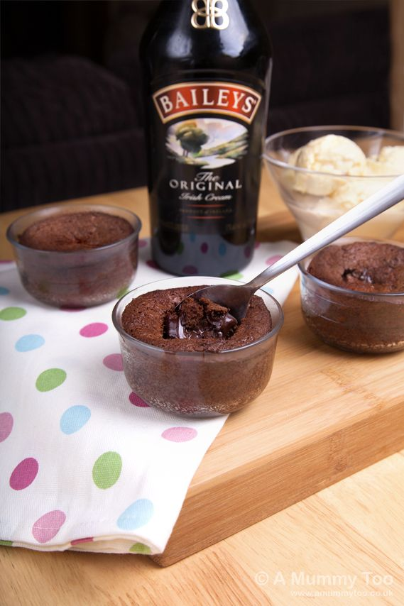 Baileys hot chocolate pudding (recipe)