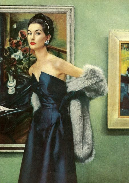 old hollywood  Henri Bendel  fashion -- wishing that somehow, this look could be pulled off in this crazy Manila weather