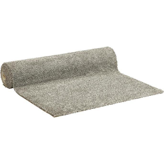 Licht grijs tapijt met gesneden pool. Rolbreedte 400 cm.